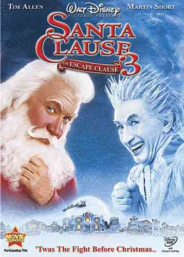 SANTA CLAUSE 3:ESCAPE CLAUSE BY ALLEN,TIM (DVD)